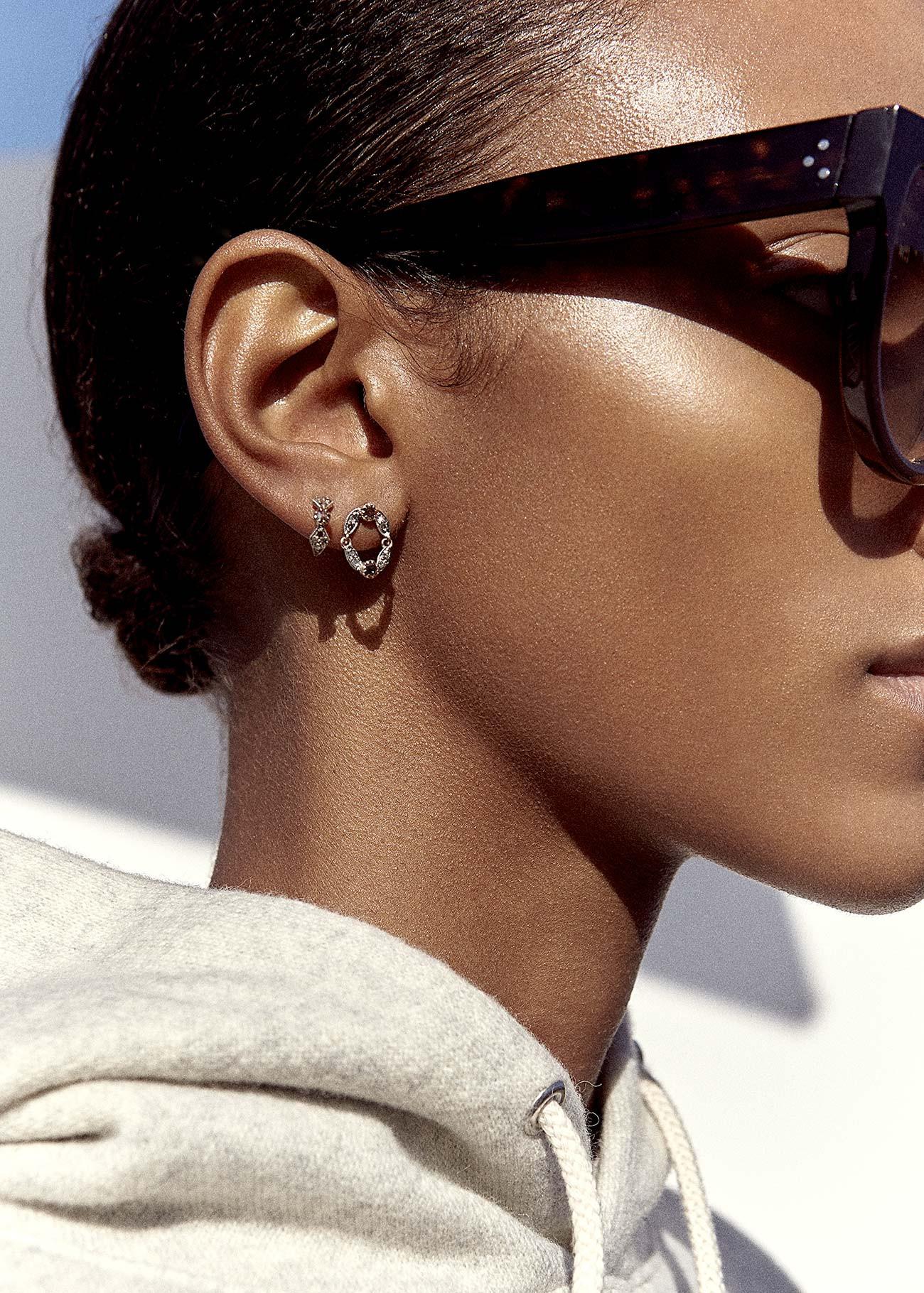 Pascale Monvoisin Earrings ADELE N°2