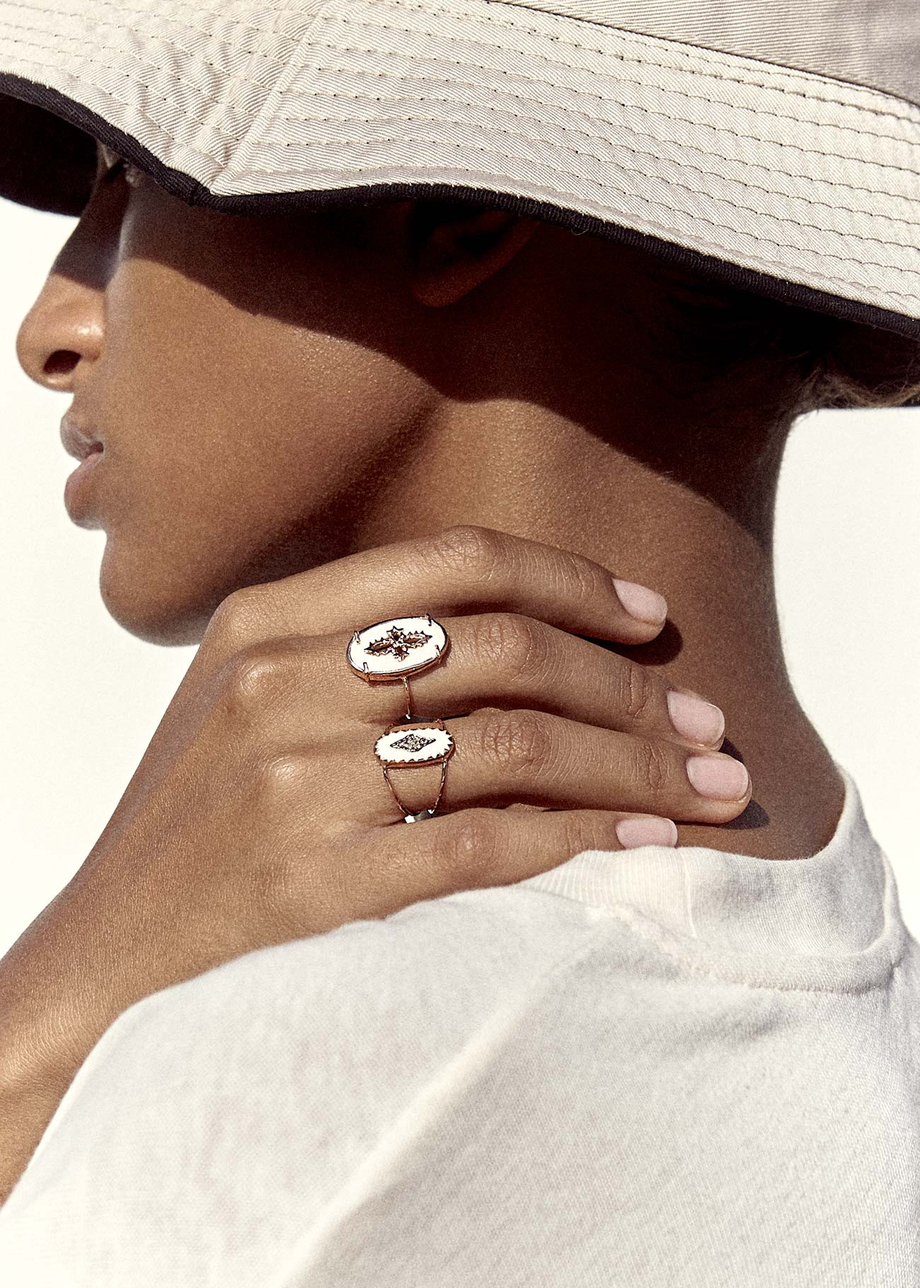 Pascale Monvoisin Ring SUNDAY WHITE