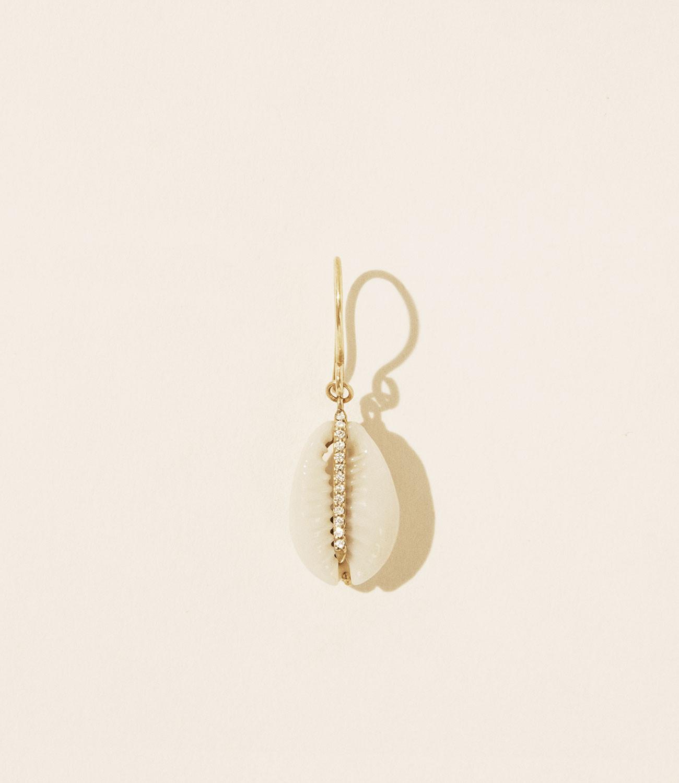Pascale Monvoisin Earrings CAURI DIAMOND