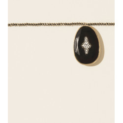 Pascale Monvoisin Necklace SIMONE BLACK