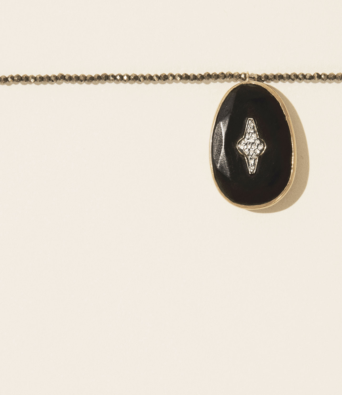 Pascale Monvoisin Necklace SIMONE BLACK