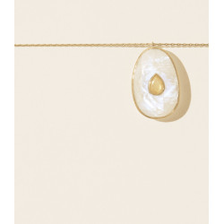 Pascale Monvoisin Necklace SIMONE MOONSTONE