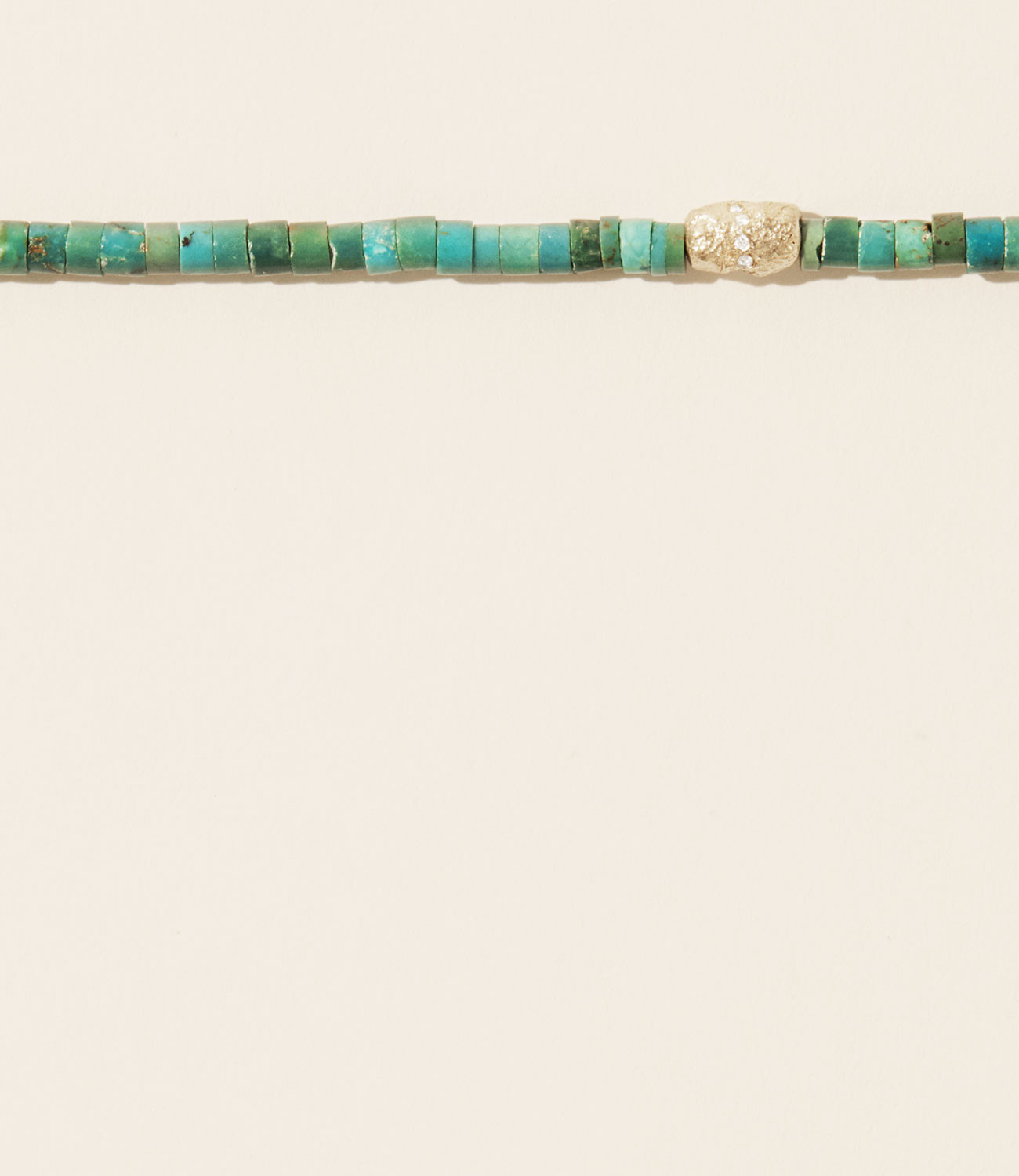 Collier TAYLOR N°1 TURQUOISE Pascale Monvoisin