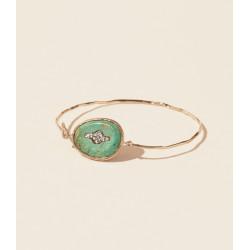 Bracelet GARANCE N°2 TURQUOISE Pascale Monvoisin