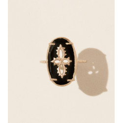 Pascale Monvoisin Ring SUNDAY BLACK