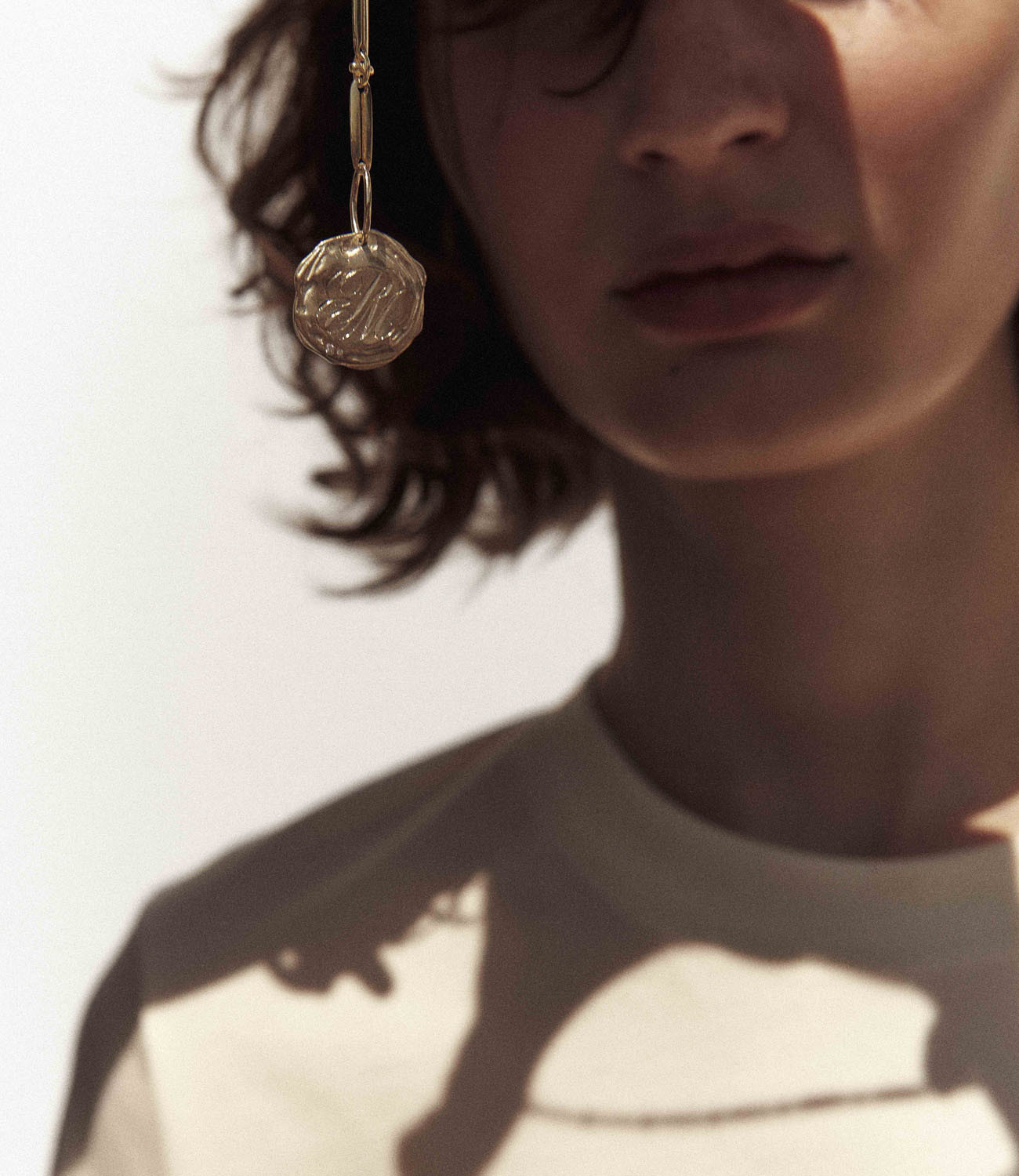 Collier INITIALE N°2 Pascale Monvoisin
