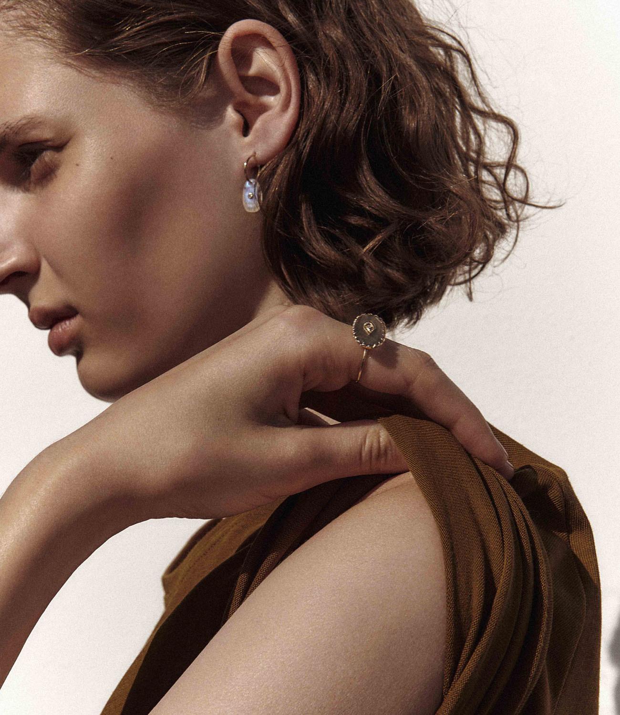 Pascale Monvoisin Earrings ORSO AQUAMARINE