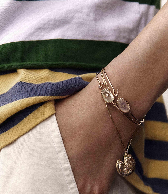 Pascale Monvoisin Bracelet ORSO N°1 AQUAMARINE