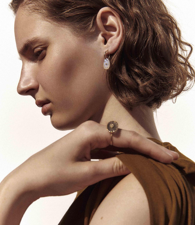 Pascale Monvoisin Earrings ORSO MOONSTONE