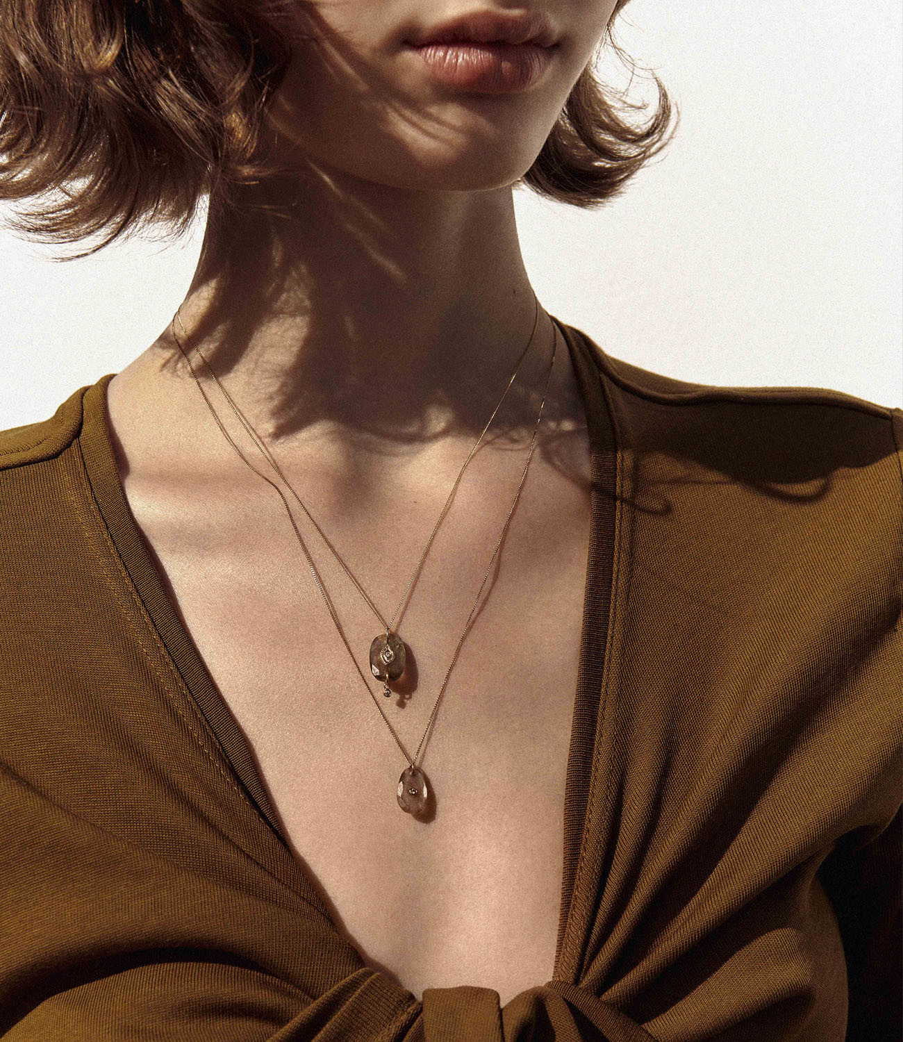 Pascale Monvoisin Necklace ORSO N°1 MOONSTONE