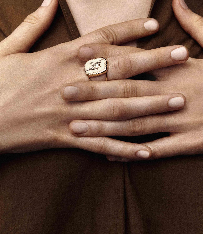 VARDA N°1 BLACK DIAMOND Pascale Monvoisin Jewelry