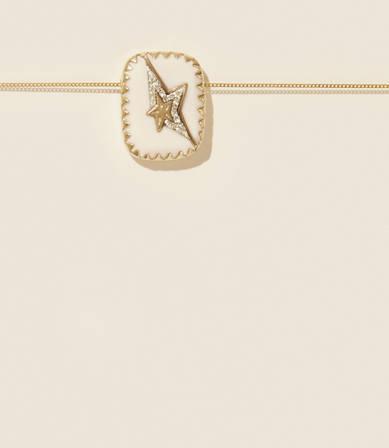 Pascale Monvoisin Necklace VARDA N°1 WHITE DIAMOND