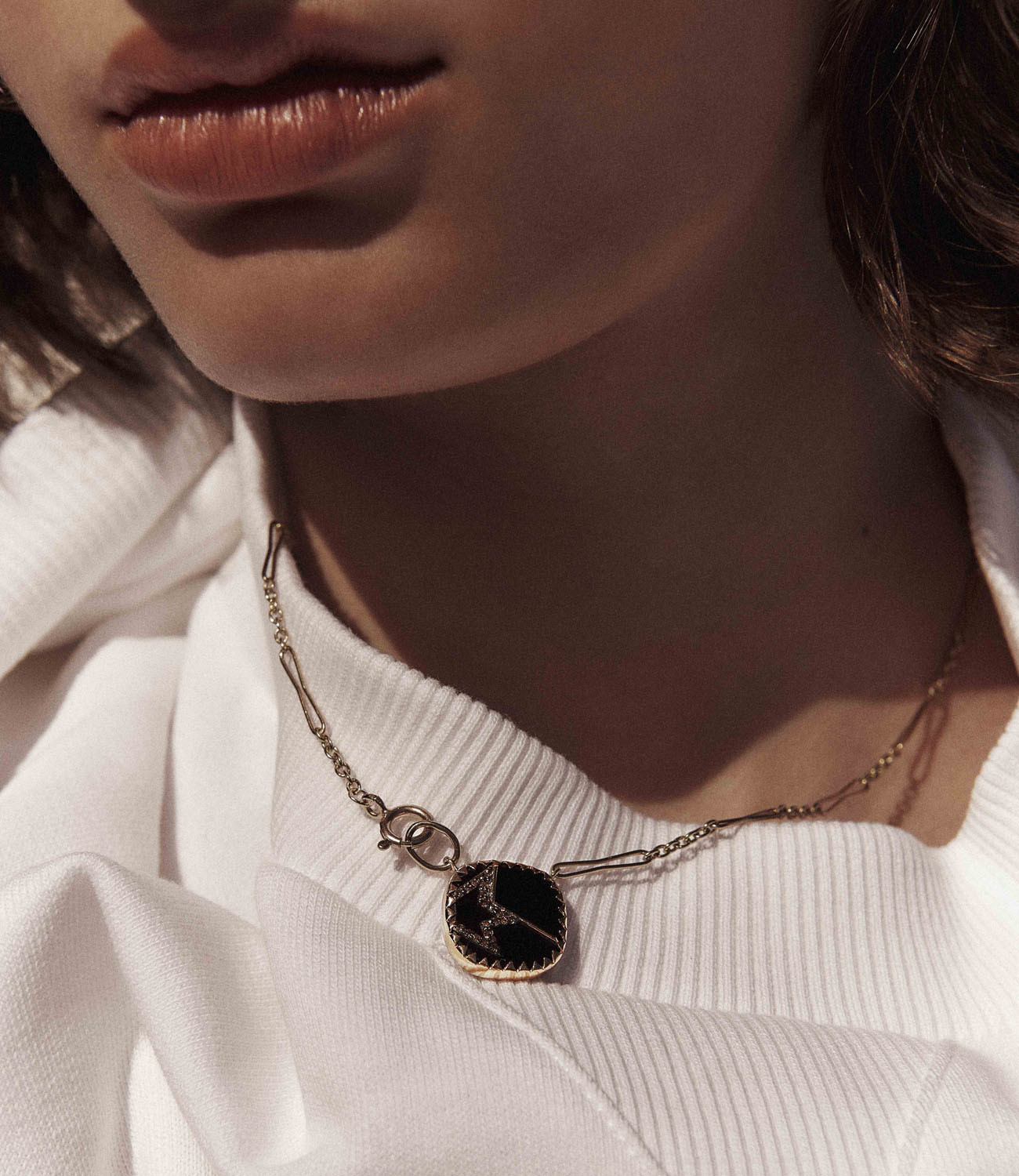 Pascale Monvoisin Necklace VARDA N°2 BLACK DIAMOND