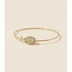 Bracelet ORSO N°1 LABRADORITE Pascale Monvoisin