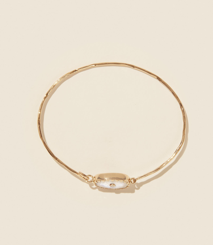 Bracelet ORSO N°1 PIERRE DE LUNE Pascale Monvoisin