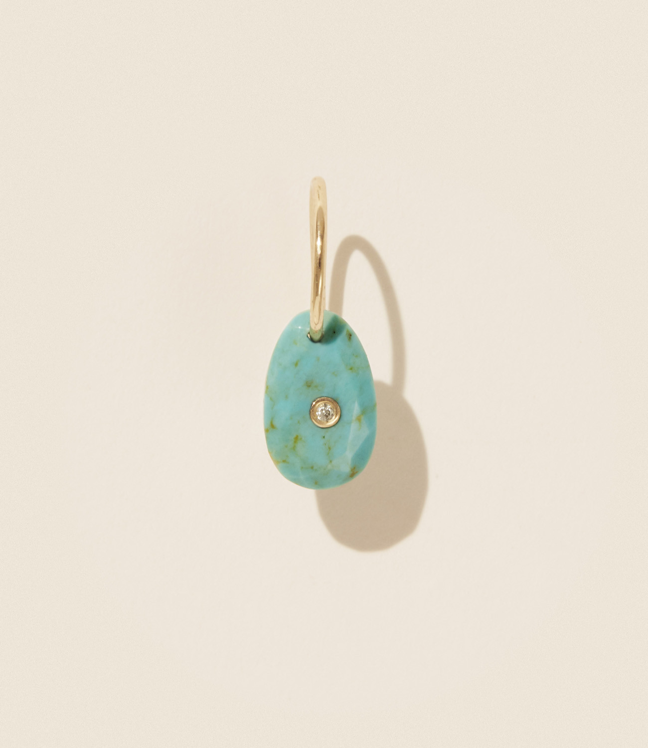 Pascale Monvoisin Earrings ORSO TURQUOISE