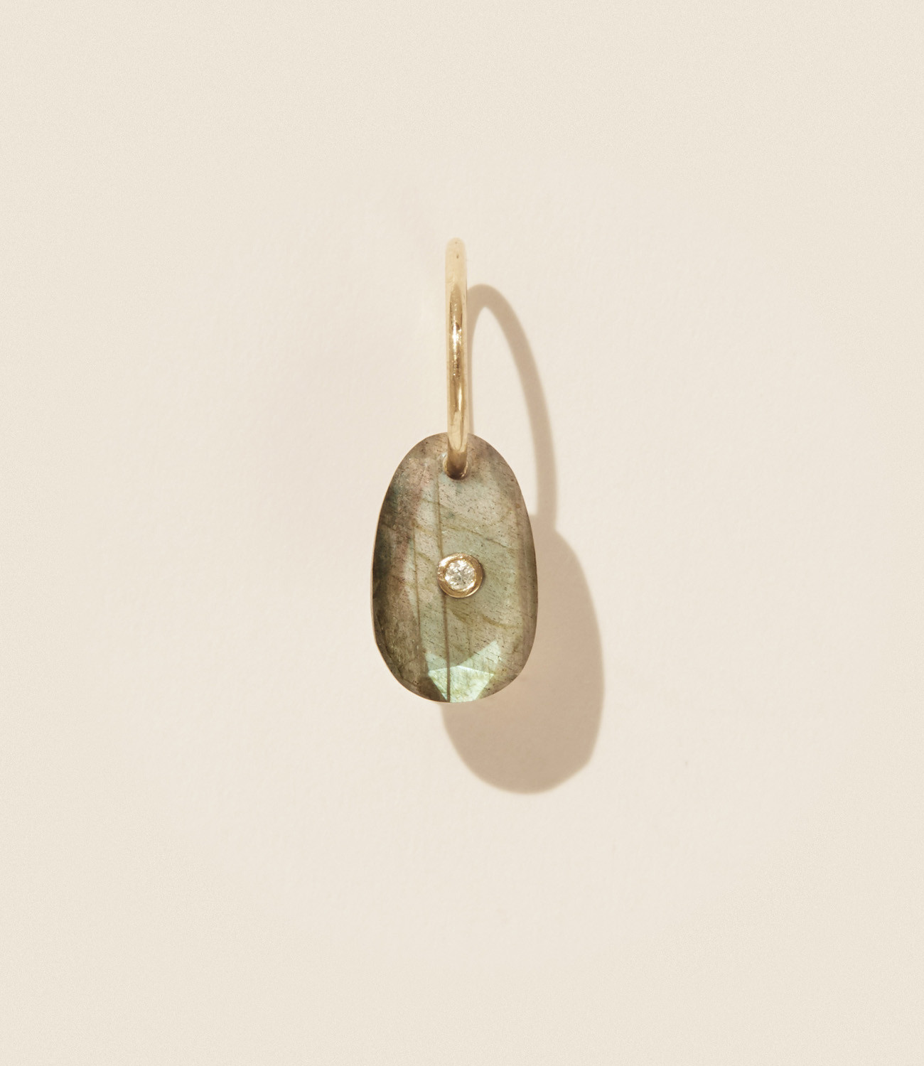 Pascale Monvoisin Earrings ORSO LABRADORITE