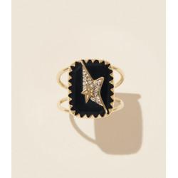 Pascale Monvoisin Ring VARDA N°1 BLACK DIAMOND