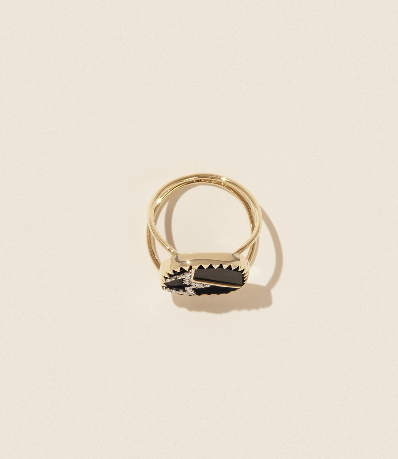 Pascale Monvoisin Ring VARDA N°2 BLACK DIAMOND
