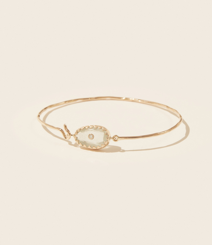 Bracelet ORSO N°1 AIGUE-MARINE Pascale Monvoisin