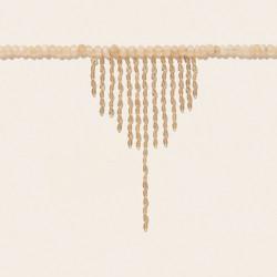 TAYLOR N°3 MOONSTONE PEACH Pascale Monvoisin Jewelry