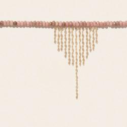 TAYLOR N°3 RODOCROSITE Pascale Monvoisin Jewelry