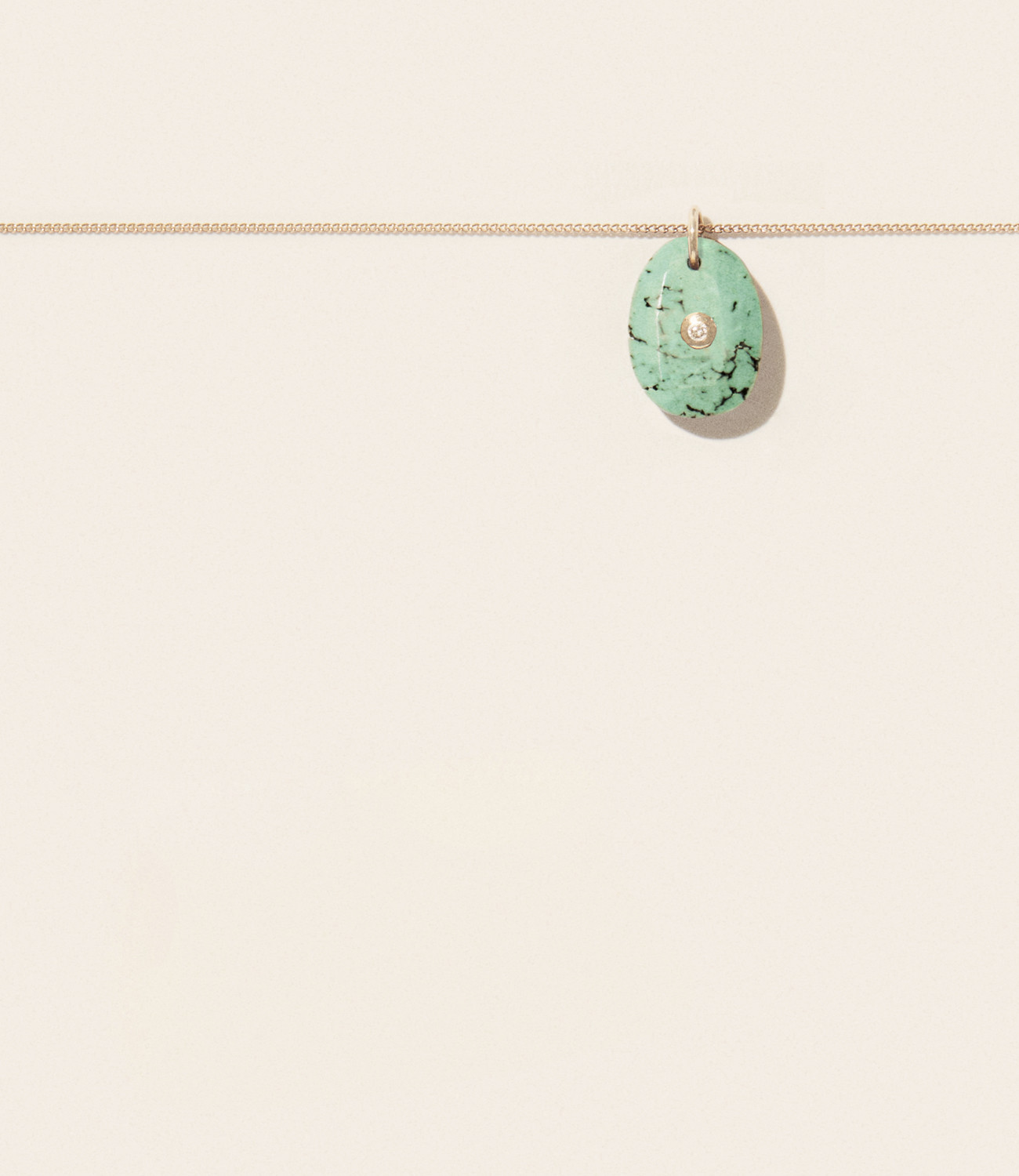 Collier ORSO N°1 TURQUOISE Pascale Monvoisin