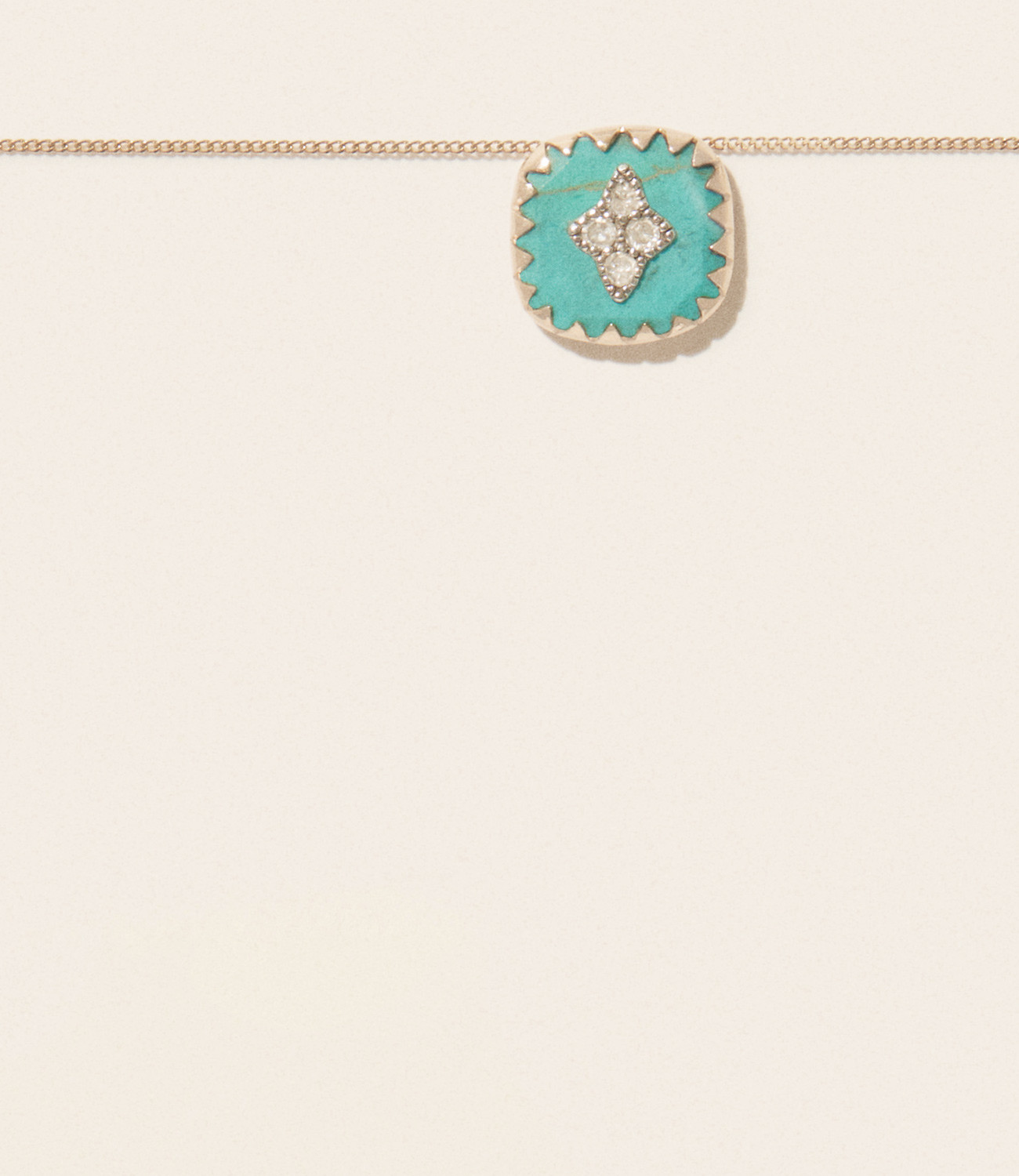 Pascale Monvoisin Necklace PIERROT N°2 TURQUOISE