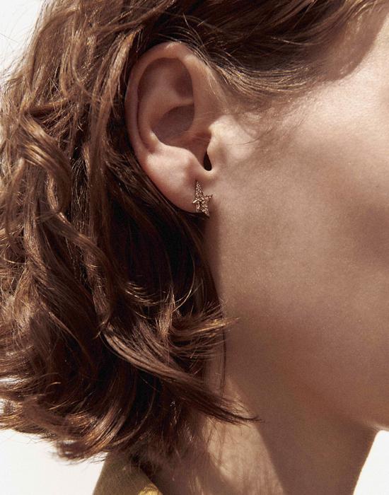 Pascale Monvoisin Earrings VARDA DIAMOND